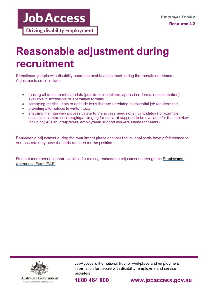 thumbnail of 11.Reasonable adjustments during recruitment