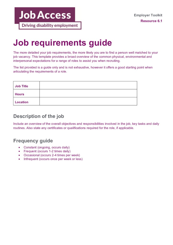 thumbnail of 15. Job requirements guide