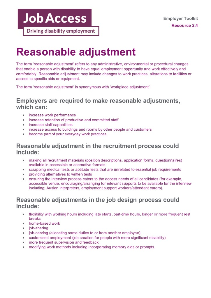 thumbnail of 16. Reasonable adjustments
