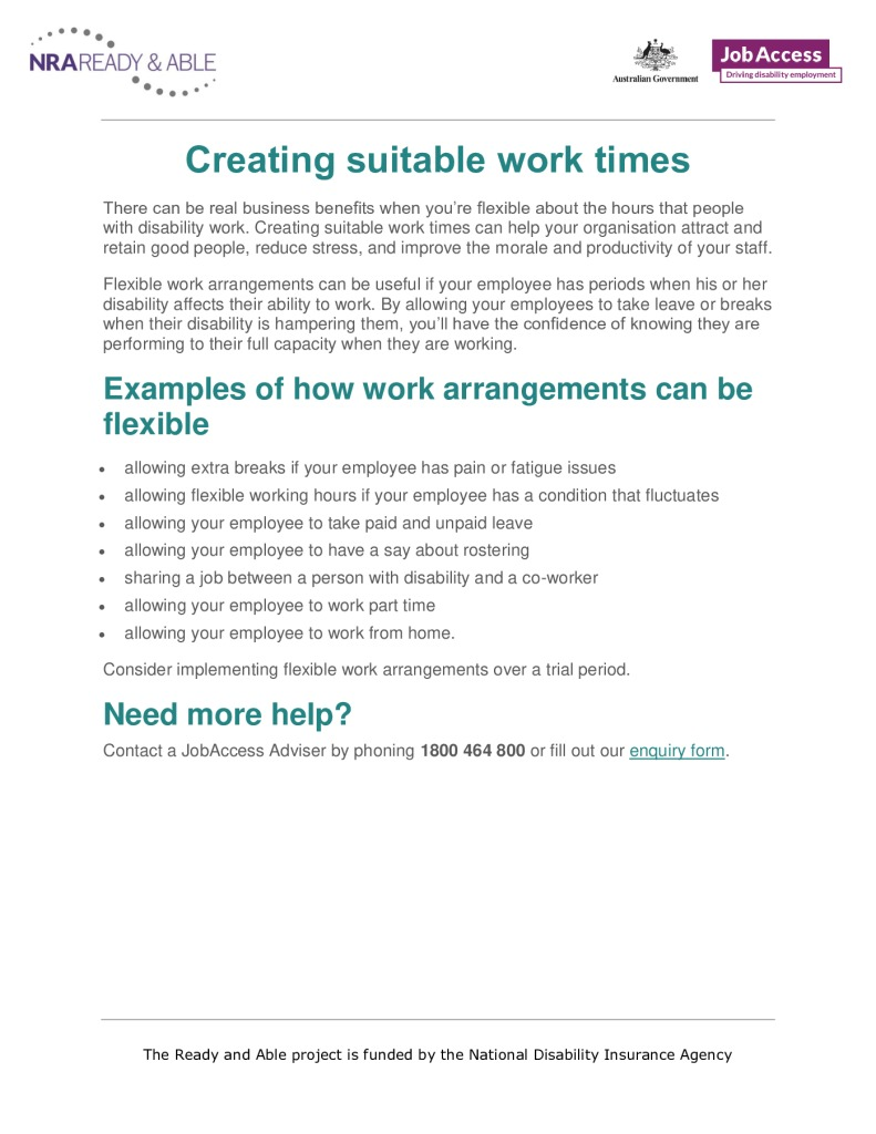 thumbnail of 20. Creating suitable work times