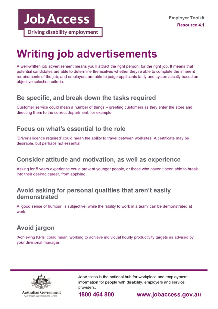 thumbnail of 7. Writing job advertisements