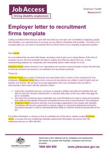 thumbnail of 8. Employer letter to recruitment firms template