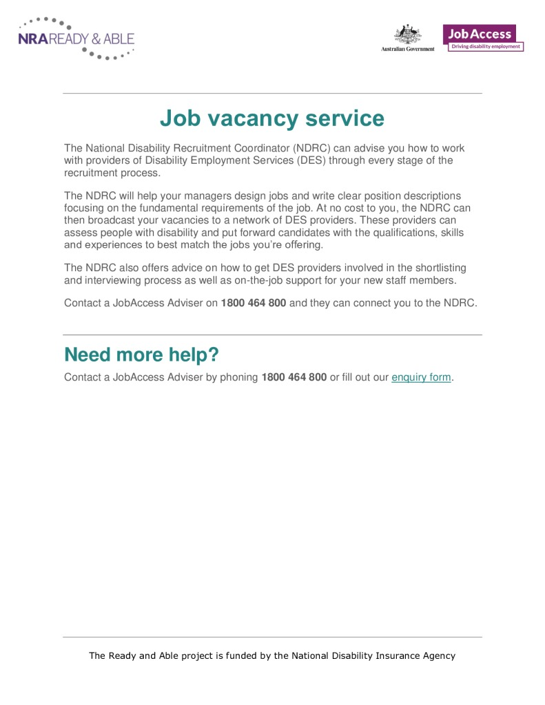 thumbnail of 9. Job vacancy services